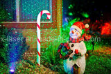 レーザー光線、屋外のクリスマスのレーザー光線、エルフの軽いクリスマスの照明