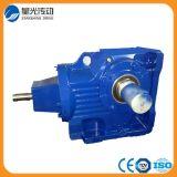 Reductor montado eje del engranaje del motor eléctrico