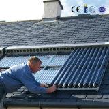 L'eau de panneaux solaires de Solarkeymark SRCC avec le caloduc en verre