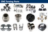 Insieme dei pezzi meccanici in alluminio o acciaio inossidabile