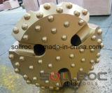 Bit de tecla elevado da pressão de ar SD12-330mm DTH para a perfuração de rocha