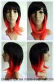 최신 판매 형식 머리 Cosplay Anime 자연적인 똑바른 여자의 합성 가발