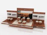 Изготовленный на заказ акриловая деревянная индикация ювелирных изделий вахты, индикация случая вахты