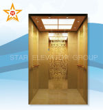 Luxury Mrl Mirror Stainless Steel Passenger Elevator