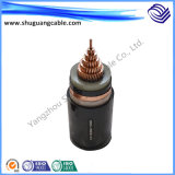 Single Core Medium Voltage XLPE Insulation PVC Sheath Armored Electrical Power Cable