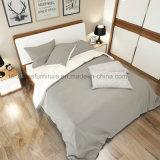 Bj03A 현대 멜라민 침실 가구 호텔 가구 나무 침대