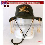 Presente australiano tradicional do negócio do tampão do algodão do chapéu dos artigos do partido (C1026)