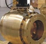 F316-F304-F51 a modifié le robinet à tournant sphérique du tourillon api