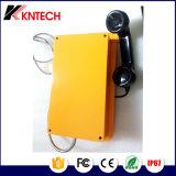 Téléphone lourd Knsp-10 Kntech de tunnel de téléphone de numérotage automatique de téléphones