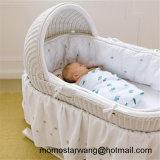 Оптовое выдвиженческое одеяло муслина младенца Swaddle одеяло с шикарной конструкцией
