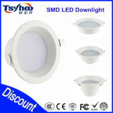 Aluminio popular 5W 18W 30W LED Downlight del diseño