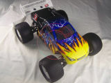2.4G 4WD Hsp 94061 1/8th Sacle Truggy elettrico senza spazzola