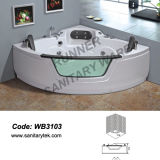 De Badkuip van de Massage van de Jacuzzi van de draaikolk (WB2112)