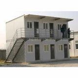 Casa móvil casera prefabricada del envase de 2 dormitorios