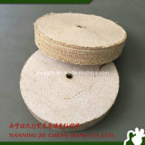 Roue de polissage de polissage de roue de sisal