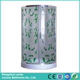 Recinto de ducha de cristal con ruedas deslizantes de alta calidad (LTS-825B)