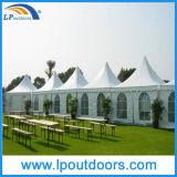 tenda esterna del Pagoda della tenda foranea del PVC dell'alluminio di 6X6m per l'evento