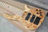 Гитара естественного деревянного цвета нот/6-String Hanhai электрическая басовая
