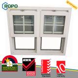 Сопротивление UPVC пластичное Doule погоды повиснуло стеклянное окно