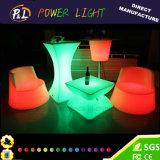 Mesa redonda de LED colorido / mobília LED