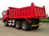 Sinotruk HOWO 6X6 All-Wheel 드라이브 쓰레기꾼 또는 팁 주는 사람 트럭