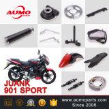 Het rode VoorStootkussen van de Motorfiets voor Juank Sport 901 50cc