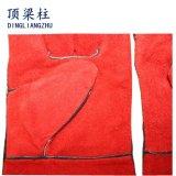 Работы безопасности 14 дюймов перчатки заварки красной кожаный в Китае