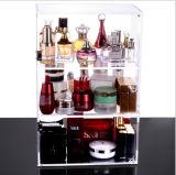 Showcase cosmético do indicador do perfume acrílico