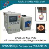 Controllo ad alta frequenza del PLC della macchina termica di induzione 45kw