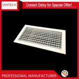 Grade de ar dobro de alumínio do teto de Defelction do condicionador de ar