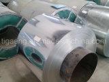 Panneau en acier galvanisé ridé par Z30~Z275 de toiture/maçonnage