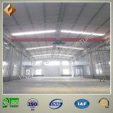 Taller galvanizado de la estructura de acero para la fábrica