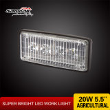 LED Agricultural Industry Light 12watt Amber Lens