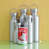 Edelstahl-Wasser-Flaschen-Sport-Flaschen-Arbeitsweg-Flasche
