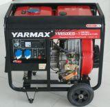 générateur à la maison portatif diesel d'utilisation de groupe électrogène 6kw