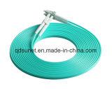 LC-LC Om3 duplex Patchcord de fibre optique