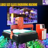 крупноразмерный гравировальный станок лазера 3D стеклянный (HSGP-L)