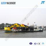 バックホウの浚渫船の砂の浚渫船のバケツ浚渫船