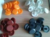 Parafuso prisioneiro tátil plástico dos indicadores da segurança colorida