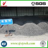 Carbón activado con eliminación del olor