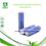 célula de batería 2200mAh del Li-ion 18650 con la marca de fábrica de Samsung 10A