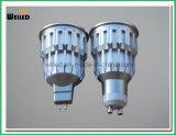 luz del punto del proyector GU10 LED de la MAZORCA LED de la versión de 10W Dimmable con el aluminio frío 800lm 80ra de la forja