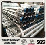 Tubo de acero galvanizado 5 pulgadas de carbón del tubo de acero
