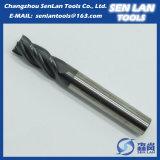 Laminatoio di estremità solido del carburo degli strumenti di carburo del tungsteno per gli utensili per il taglio