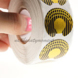 Искусствоо ногтя наклоняет инструменты Manicure направляющего выступа форм выдвижения (NF08)