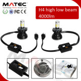 Acessórios de motocicleta HID Headlight Kit 40W 4000lm 6000k LED 24V LED H7 Headlight
