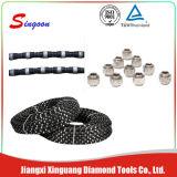 O fio do diamante viu para pedreira do granito