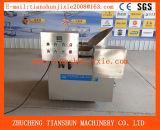 Buñuelo de la sartén del buñuelo que hace que gas automático el fabricante eléctrico del buñuelo trabaja a máquina Tsbd-12