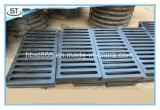 ステンレス鋼の格子によって電流を通される標準厚手のマンホールカバー
