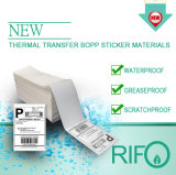 Revestimiento de transferencia térmica BOPP White Jumbo Roll for Hospital Wristbands